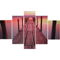 Obraz 5x   60x90cm Life