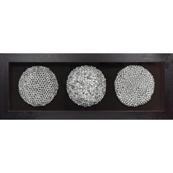 Rámované DEKO obrazy 160x60 Pod mikroskopom